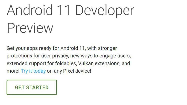 Гугл го искушува прегледникот за развивач на Android 11, отфрлајќи ја буквата за името на кодот 1