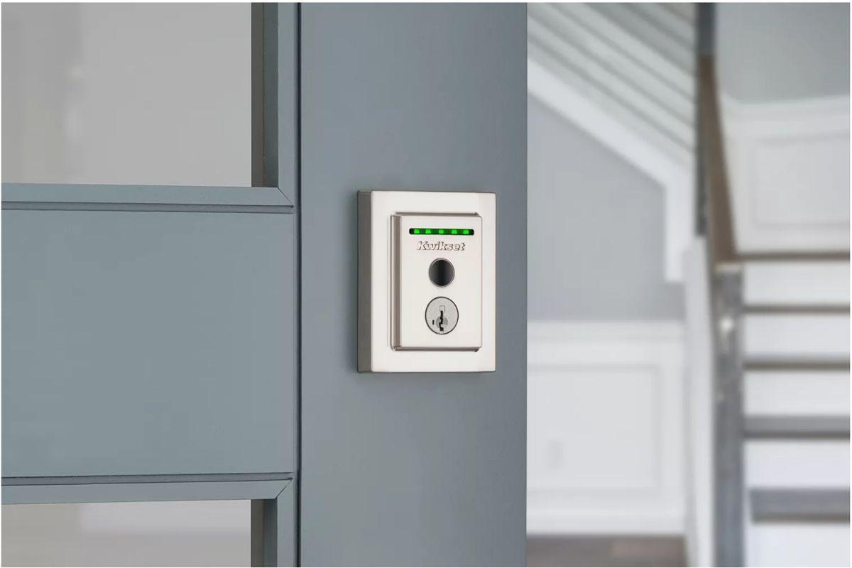 Halo Touch Kwikset puede abrir su puerta usando su huella digital 1