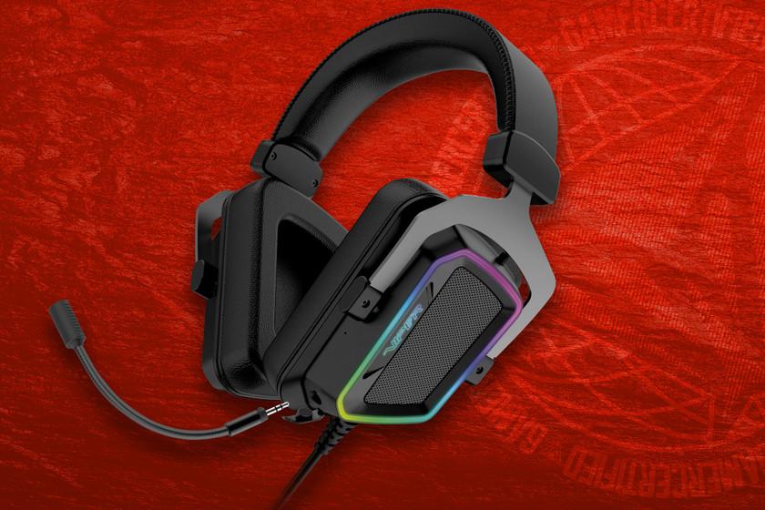 Headphone Patriot V380 ini ingin menaklukkan sebagian besar gamer dengan suara surround 7.1 dan lampu RGB