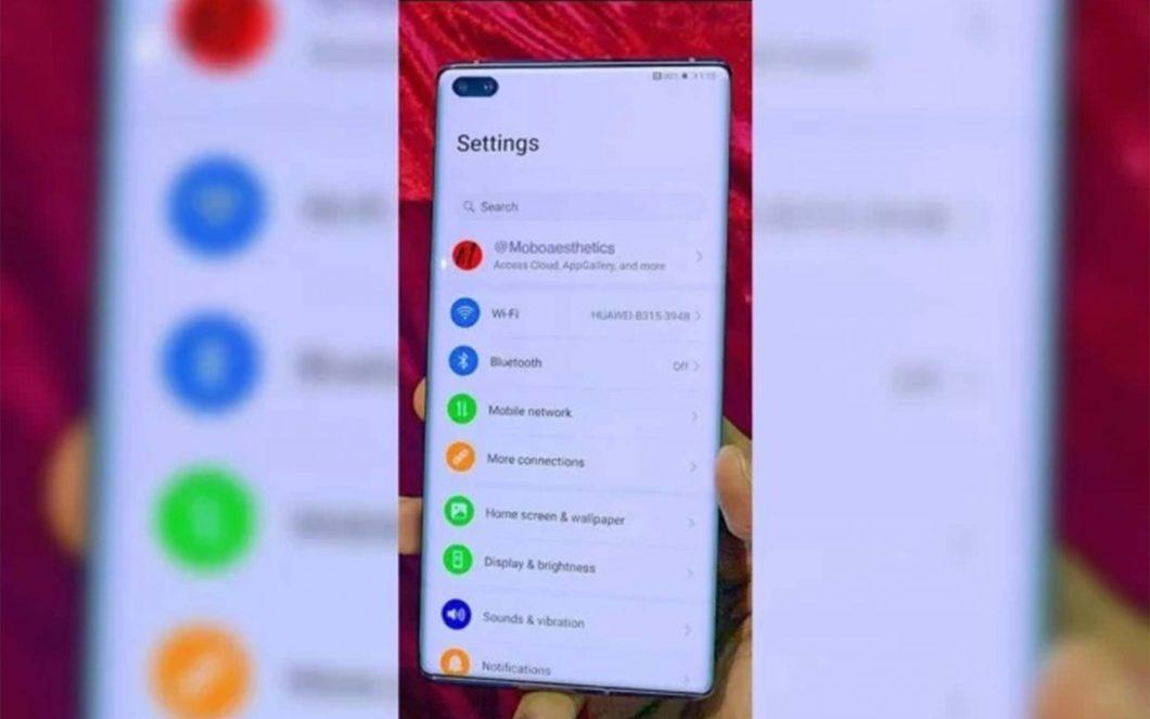 Fotodakı Huawei P40 Pro: ekranın heç bir sərhədi yoxdur 1
