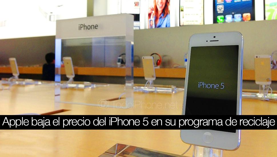 فقدت iPhone 5 قيمة في برنامج الترقية Apple 2