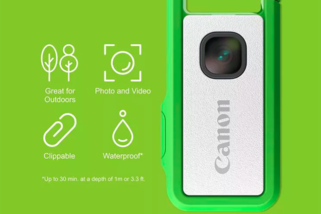 The Canon Ivy Rec crowdfunding camera gets the release date and the price 1