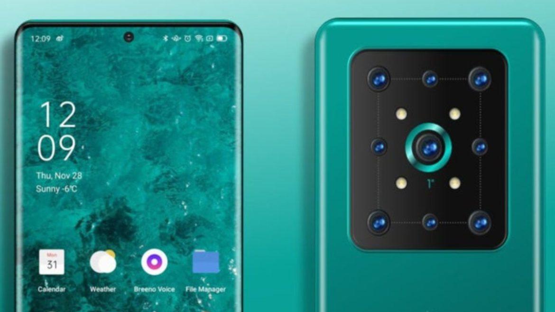 Kebocoran mengungkapkan hal itu smartphones mereka dapat memiliki 9 kamera pada tahun 2022