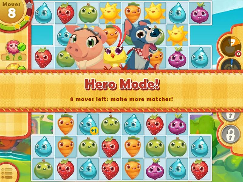Kiat dan trik untuk bergerak cepat di Farm Heroes Saga untuk iPhone dan iPad 2