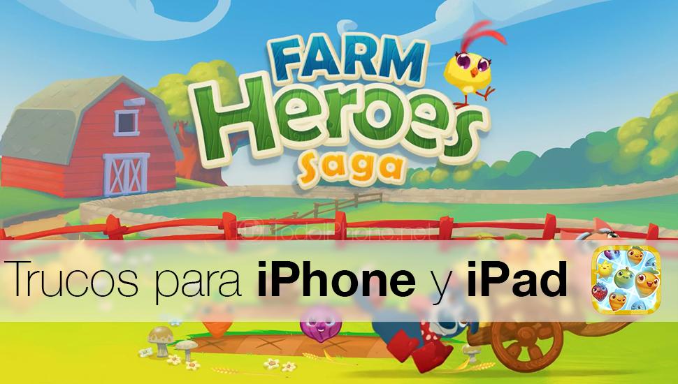 Kiat dan trik untuk bergerak cepat di Farm Heroes Saga untuk iPhone dan iPad 1