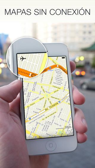 Maps.Me untuk iPhone, peta offline sehingga Anda tidak pernah tersesat 2