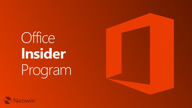 Microsoft sürətli ringdə Office İnsayderləri üçün yeni bir yeniləmə təqdim etdi 1