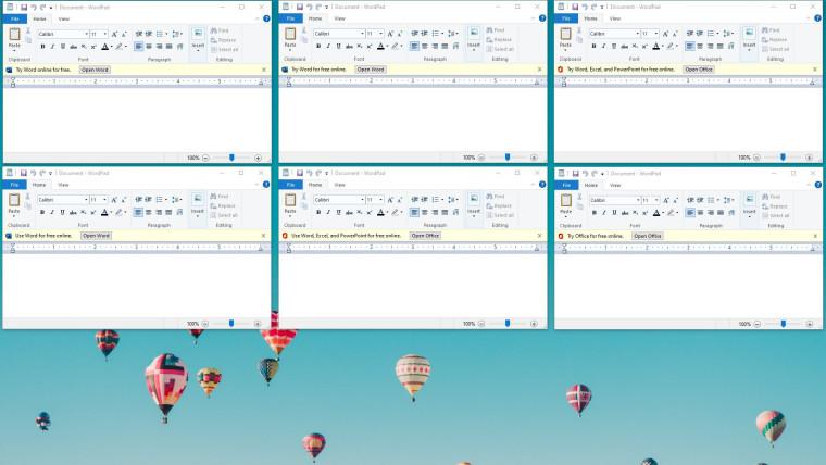 A Microsoft está testando anúncios para o Office 365 no WordPad 1
