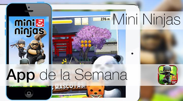 Mini Ninjas - iTunes Həftəsi Tətbiqi