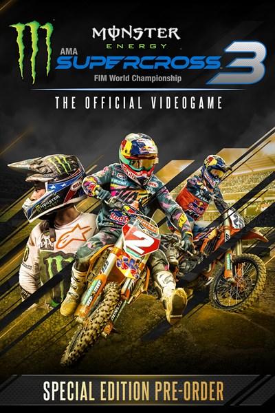 Monster Energy Supercross 3 - Пред-нарачајно специјално издание