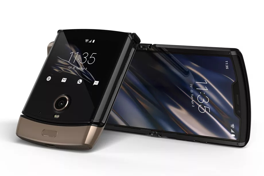 The Motorola Razr will have a new Blush Gold color variant and will be available this spring. two