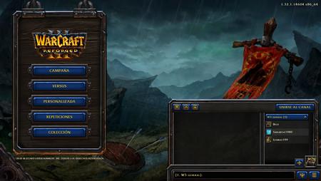 Warcraft III Reforged - muotoiltu tila