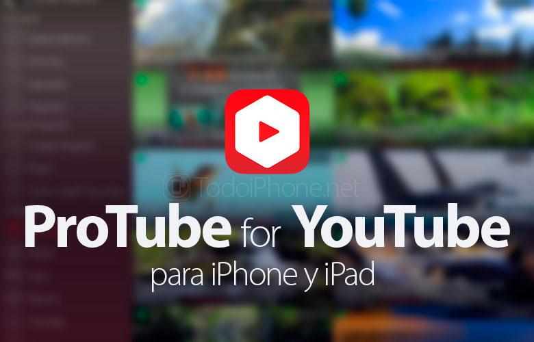 ProTube for YouTube, iPhone parametrləri App Store-da mövcuddur 2