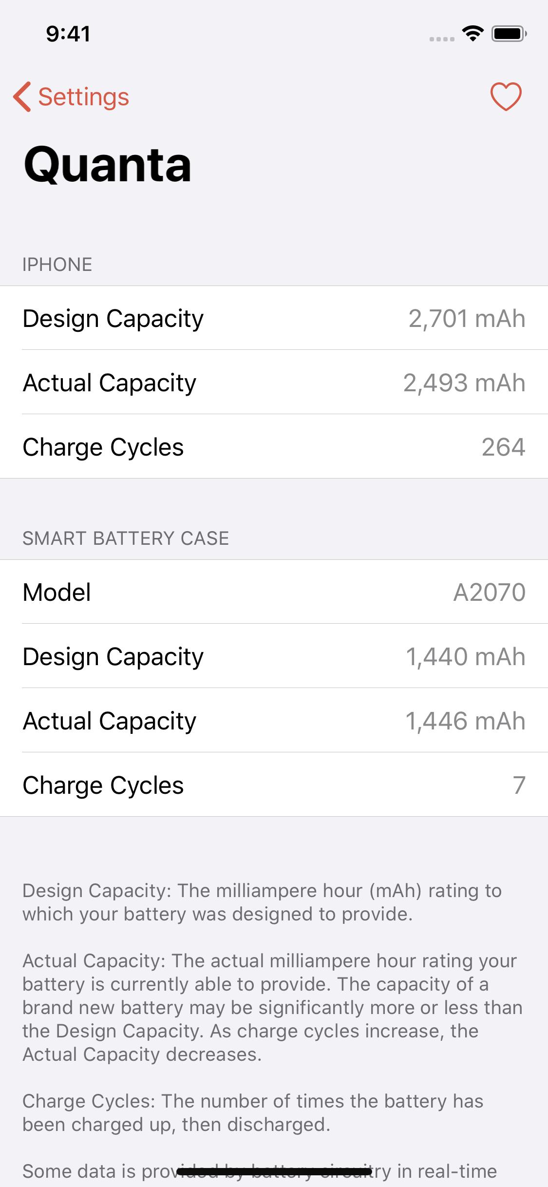 Quanta, Apple Smart Batareya Case edir, batareya səviyyələrini daha asan oxuyur 3