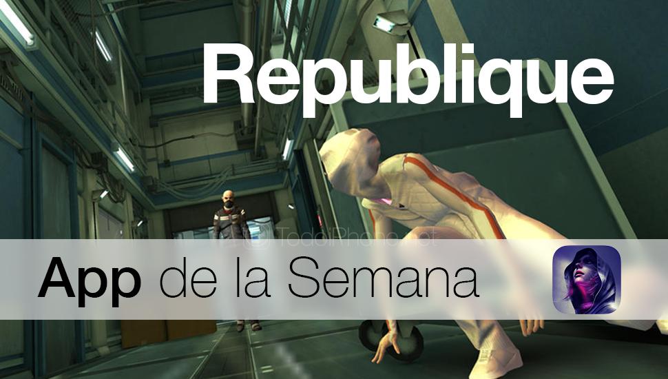 Republique - Bu Haftanın Uygulaması iTunes'da 2