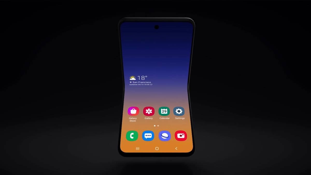 Samsung Galaxy Fold  2 bisa ditutup dua 1