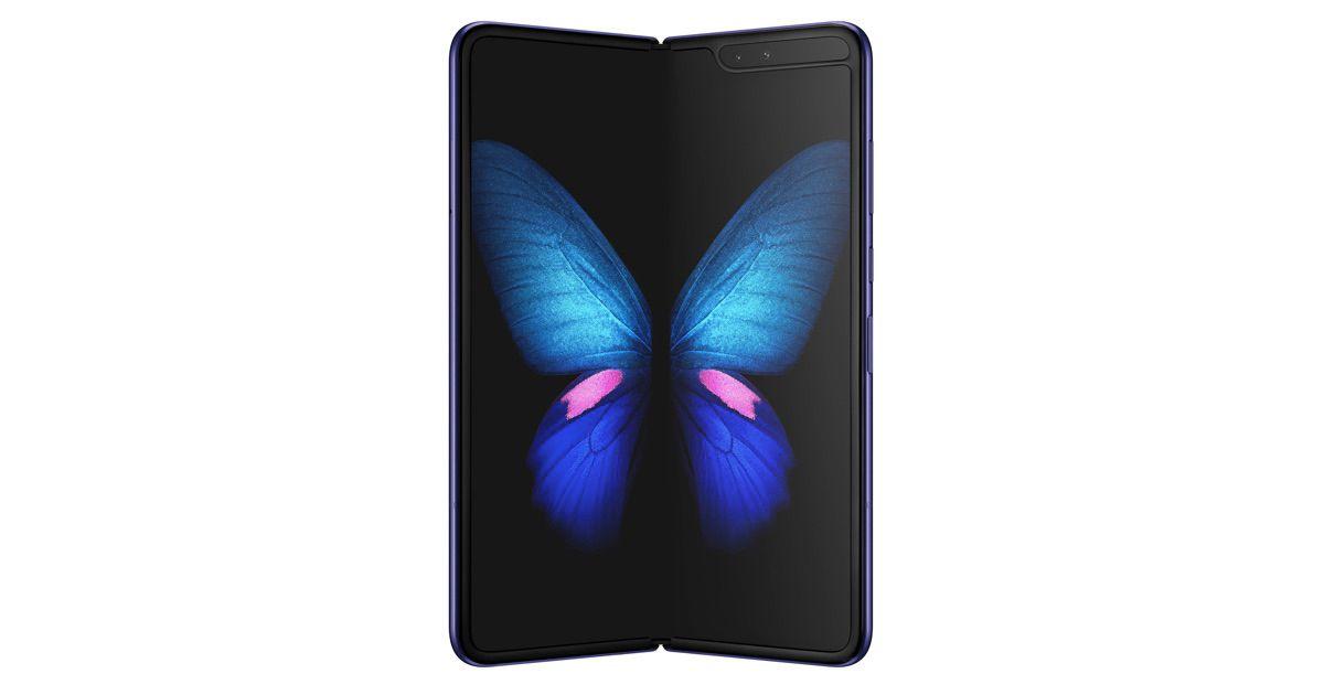 Samsung Galaxy Fold  2 untuk fitur fitur kamera di bawah tampilan, dukungan S Pen 1