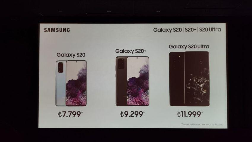 Samsung Galaxy ја нуди сериите на Турција S20
