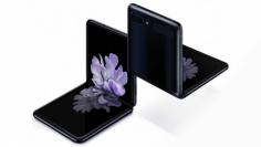 Samsung Foldable Galxaxy Z Flip baru hadir dalam desain clamshell.