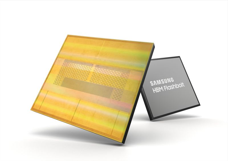Samsung Meluncurkan Flashbolt Dengan Memori HBM2E Generasi ke-3