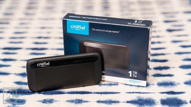 Sekilas: Ulasan Krusial X8 SSD 1