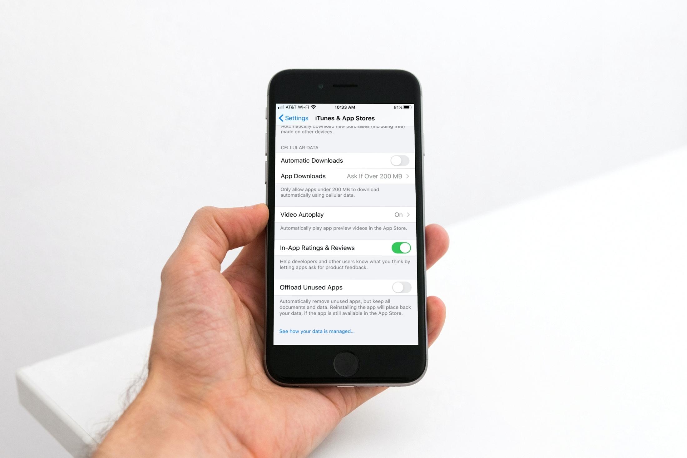 Devre dışı iPhone Kullanılmayan uygulamalar İndir