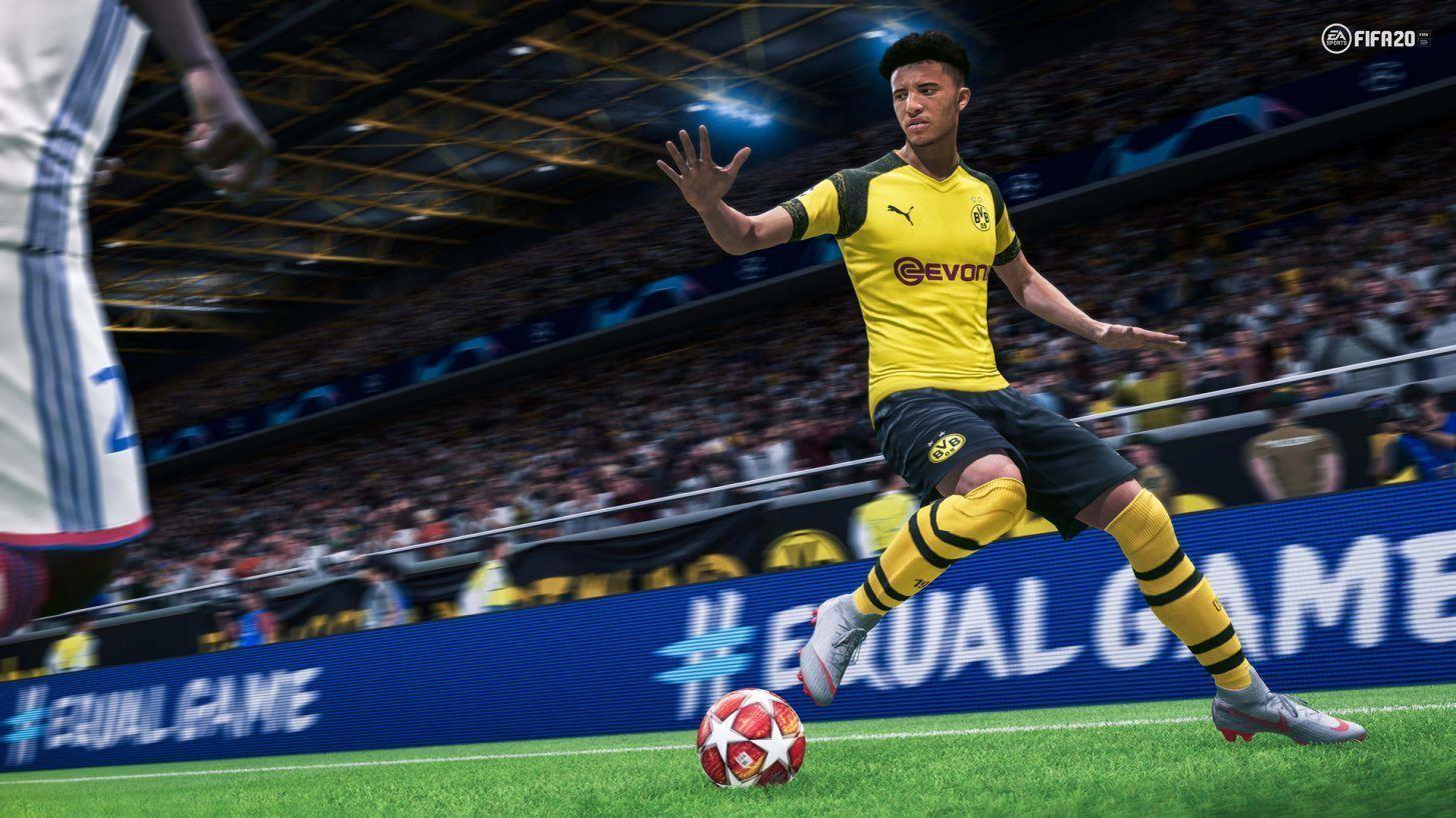 FIFA 2020 video game olahraga