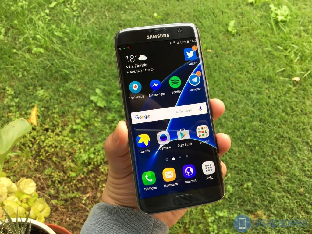 Samsung rəylər Galaxy S7 kənar 1