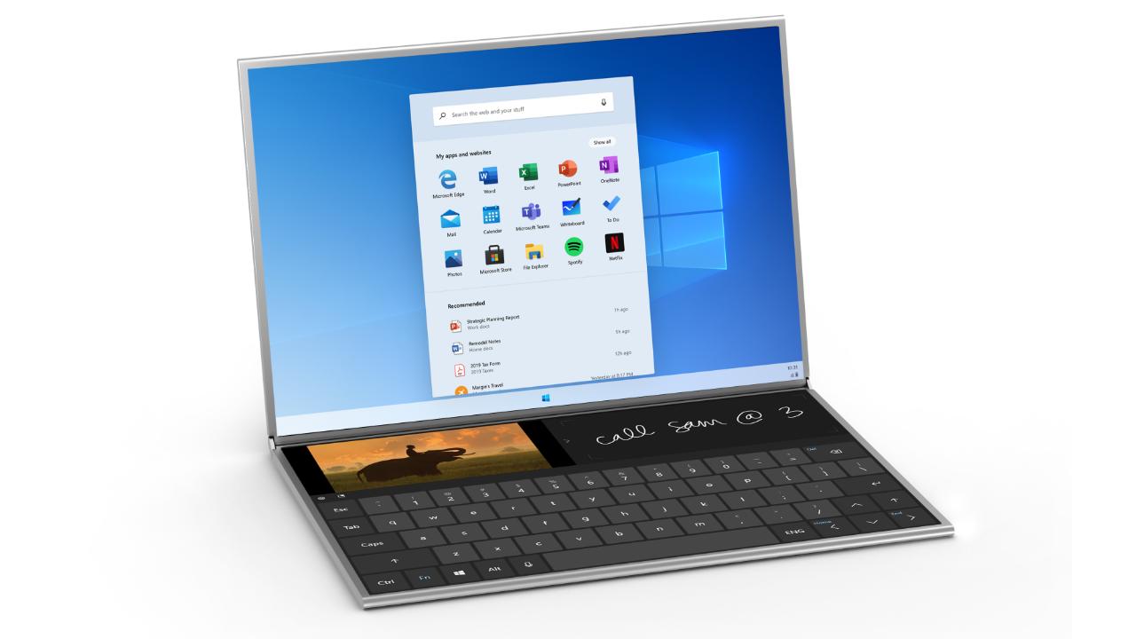 Windows    O emulador da versão 10X permite que os desenvolvedores criem aplicativos para dispositivos de tela dupla 1