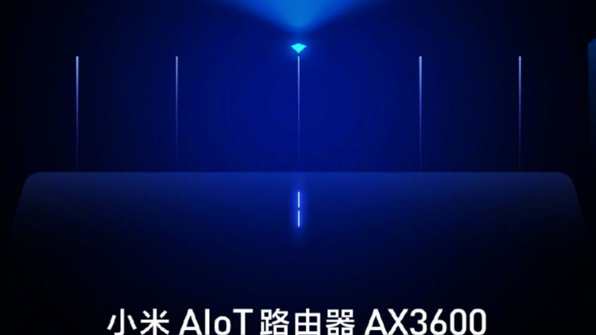 Xiaomi announced its AIoT router, AX3600 with 7 antenna 1