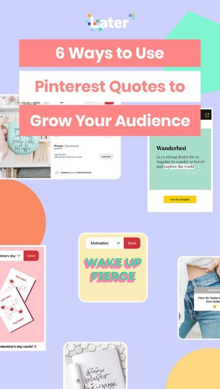 6 Cara Menggunakan Pinterest Kutipan untuk Tumbuhkan Audiens Anda 8