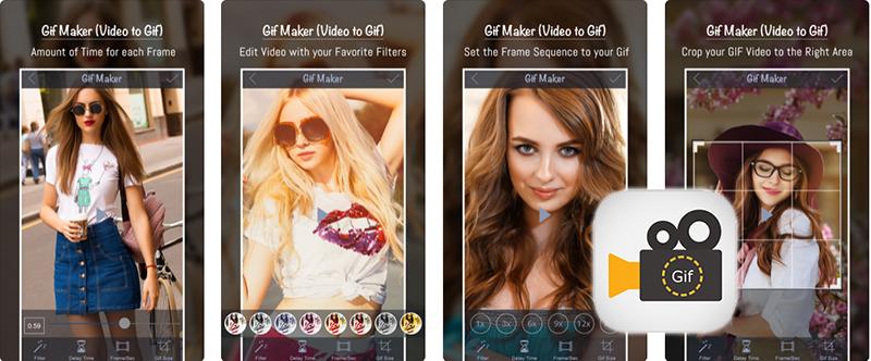 "Aplikasi ""Gif Maker, Video to GIF"" untuk iPhone dan iPad"