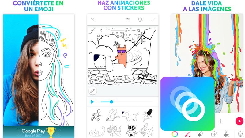 """Dengan """"PicsArt Animator"""" untuk perangkat Android"""