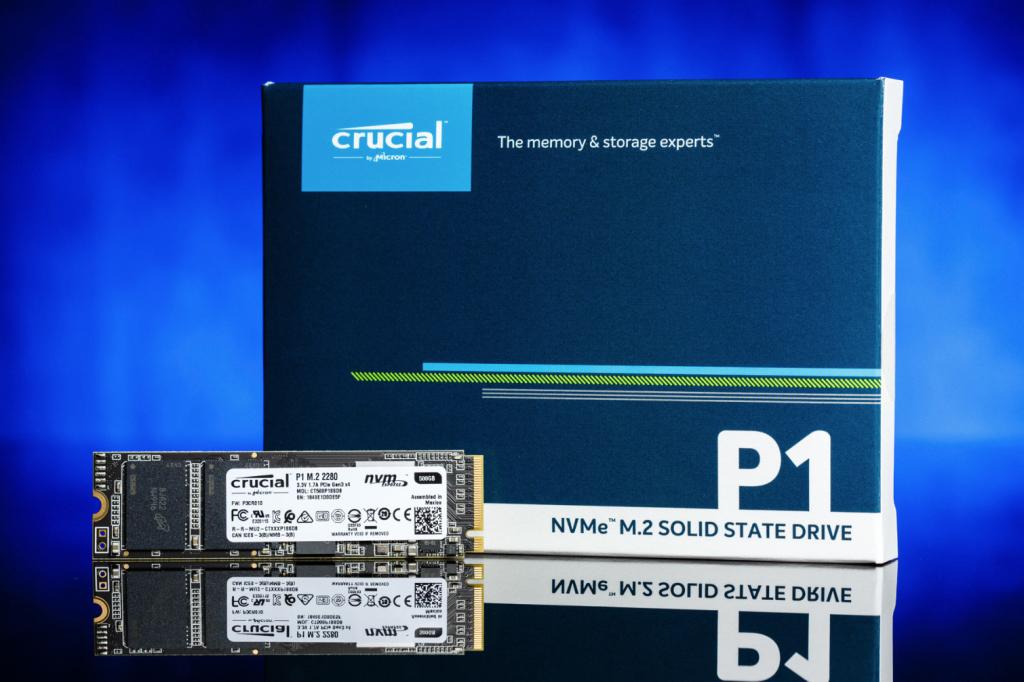 Si no es un usuario exigente, el precio del Crucial P1 SSD puede complacerlo
