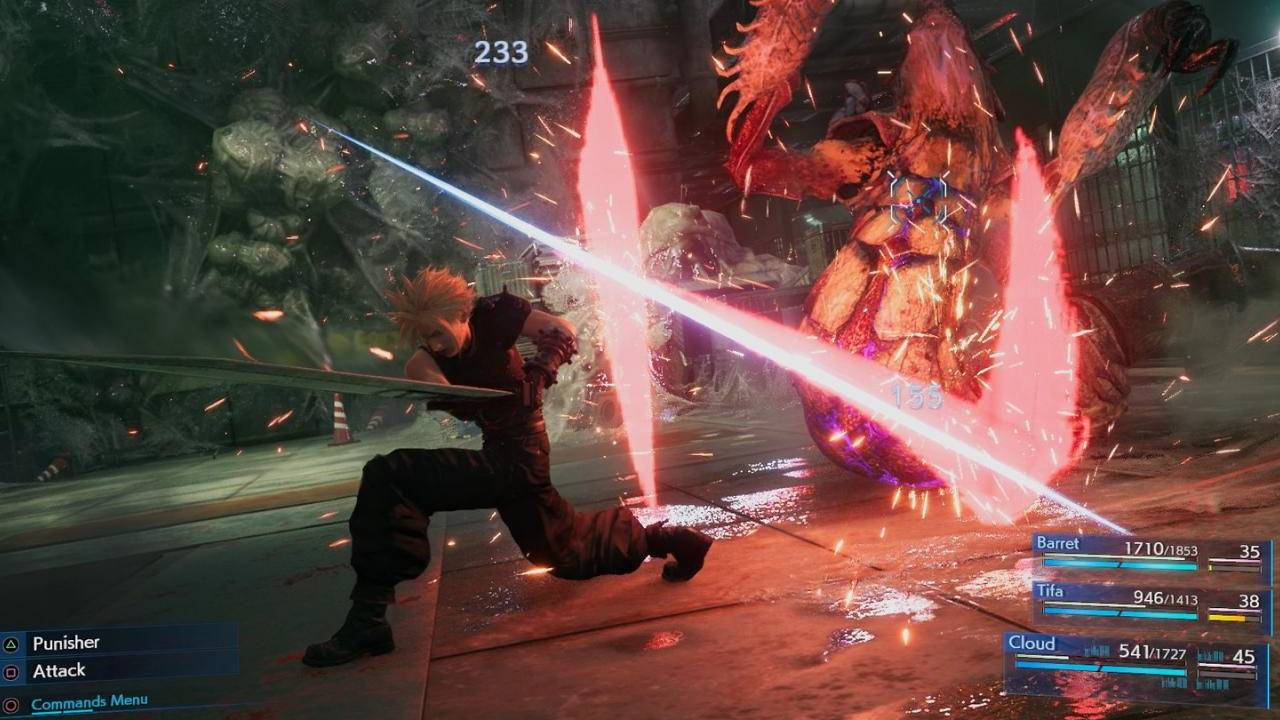 Final Fantasy VII Remake Battle System memiliki Remnants of the Original 1