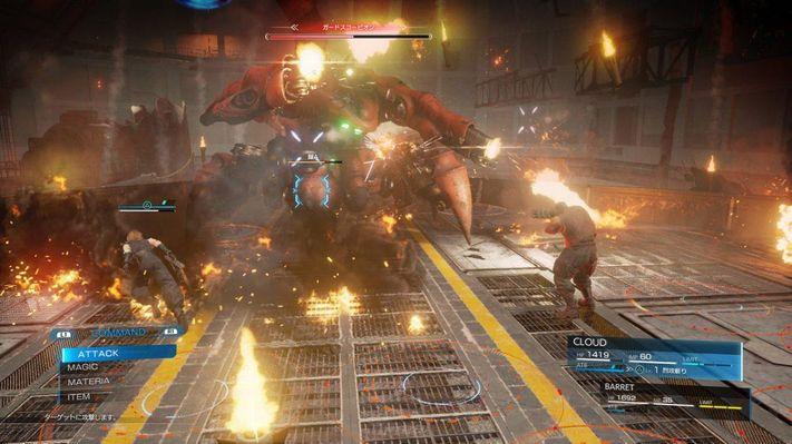 Final Fantasy VII Remake Battle System memiliki Remnants of the Original 2