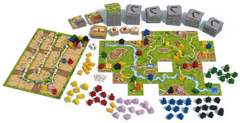 Ulasan PC Carcassonne - GameSpace.com 2
