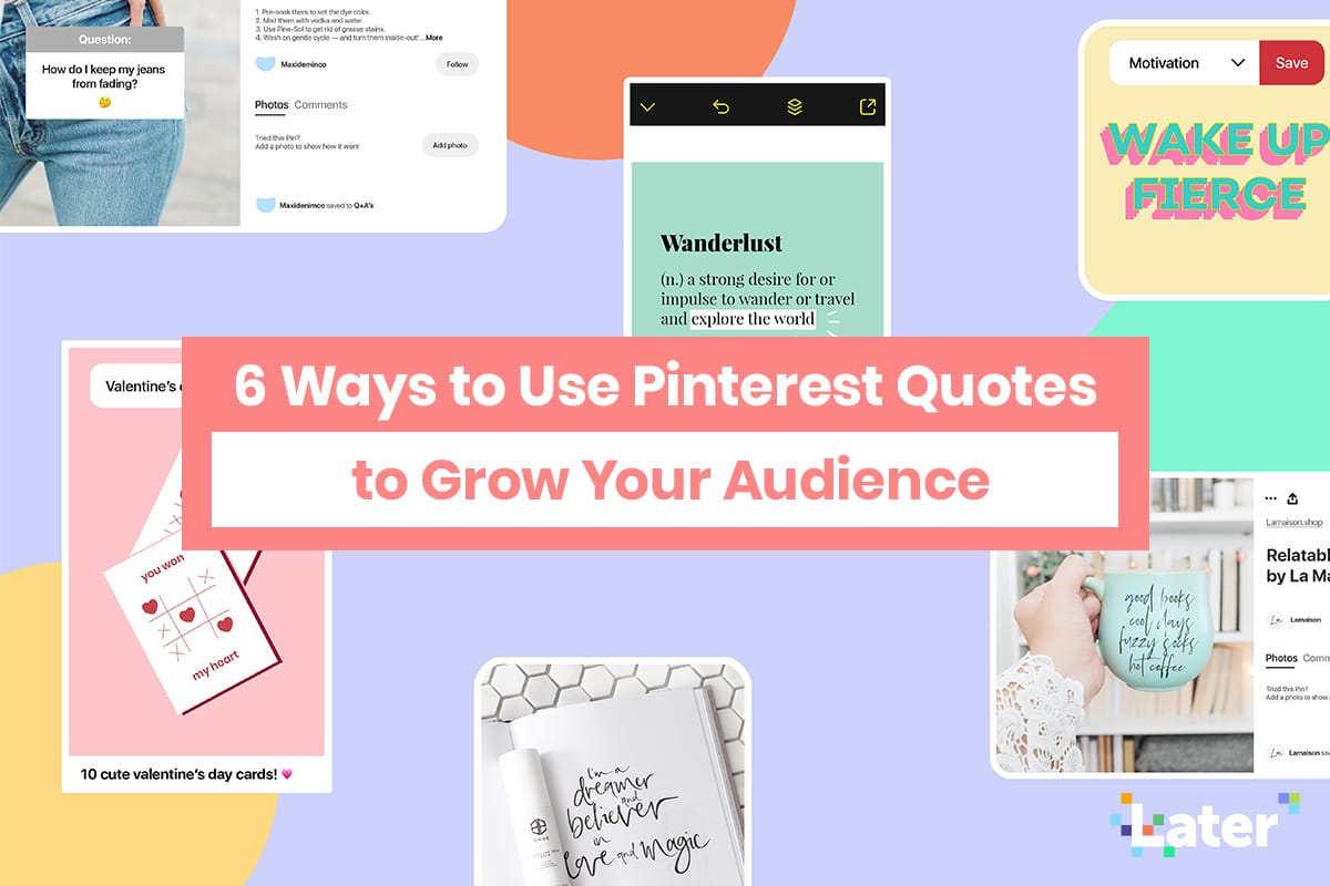 6 Cara Menggunakan Pinterest Kutipan untuk Tumbuhkan Audiens Anda 1