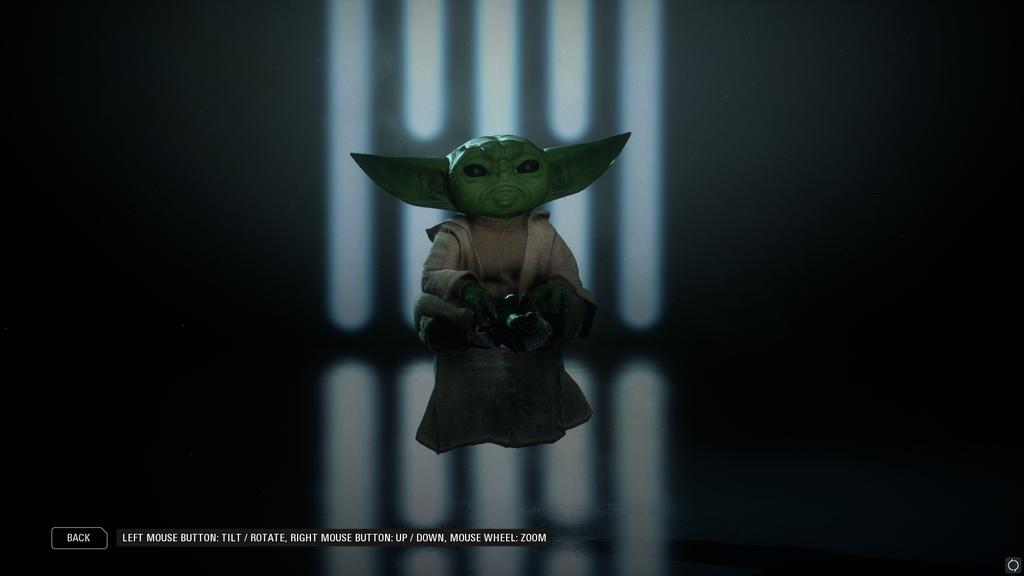 Baby Yoda masuk ke Star Wars Battlefront 2 dengan mod ini