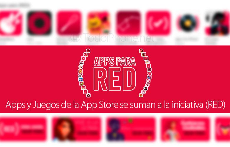 Многу апликации и игри од App Store се приклучуваат на иницијативата (RED) 2