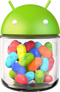 Android 4.1 Jelly Bean Logosu