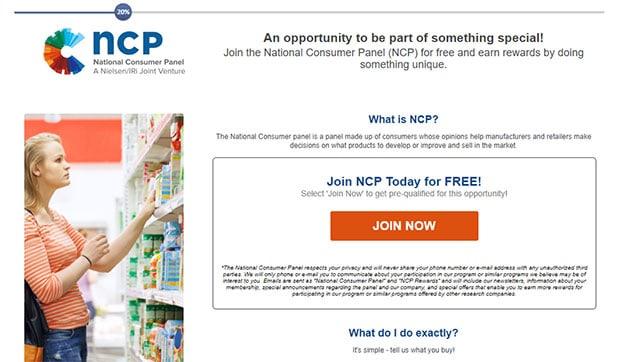 Nielsen - thẻ quà tặng Walmart miễn phí