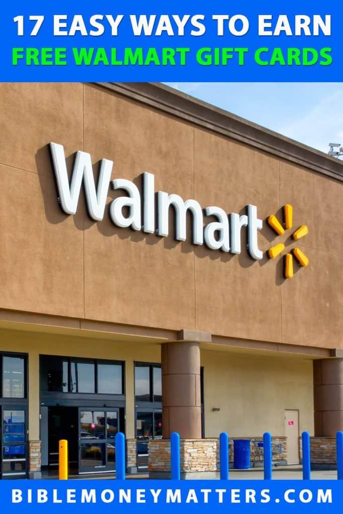 17 cách dễ dàng để kiếm thẻ quà tặng Walmart miễn phí 1
