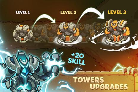 Empire Warriors Tower Defense TD Trò chơi chiến lược V 2.1.7 MOD MOD 2