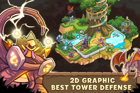 Empire Warriors Tower Defense TD Trò chơi chiến lược V 2.1.7 MOD MOD 6