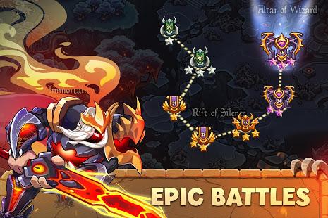 Empire Warriors Tower Defense TD Trò chơi chiến lược V 2.1.7 MOD MOD 3
