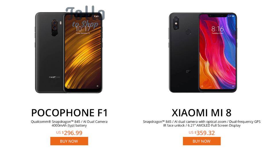 người bán điện thoại thông minh Xiaomi tốt nhất AliExpress