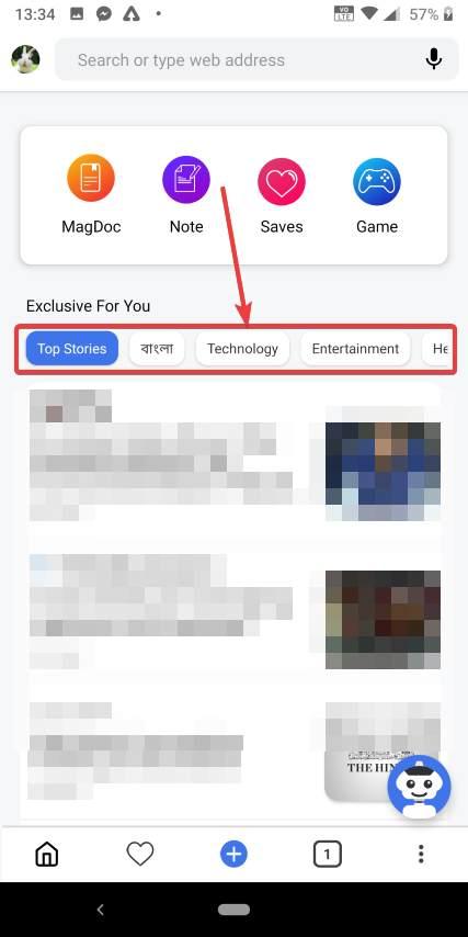 chọn danh mục tin tức