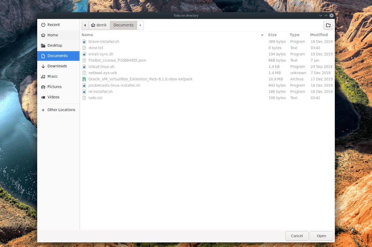Cách thiết lập các tác vụ trong danh sách Việc cần làm trên Linux 3