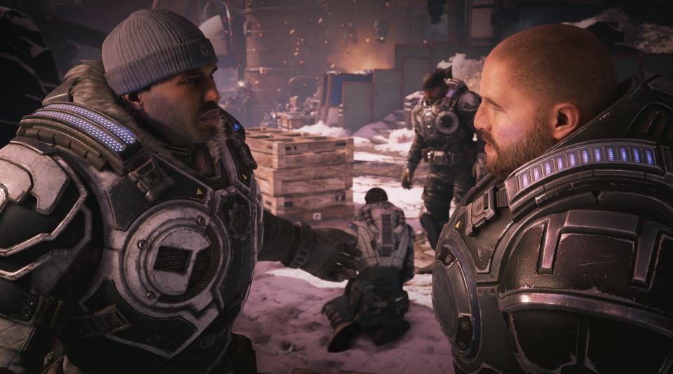 Bánh răng chiến tranh 5: Hình ảnh tuyệt vời, chơi trò chơi thú vị và một câu chuyện thú vị 2